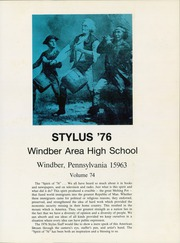Page 5, 1976 Edition, Windber High School - Stylus Yearbook (Windber, PA) online yearbook collection