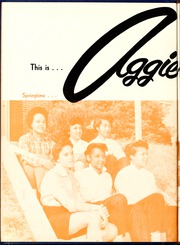Page 10, 1956 Edition, Agricultural and Technical State University - Ayantee Yearbook (Greensboro, NC) online yearbook collection