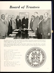 Page 9, 1960 Edition, Agricultural and Technical State University - Ayantee Yearbook (Greensboro, NC) online yearbook collection