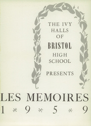 Page 5, 1959 Edition, Bristol High School - Les Memoirs Yearbook (Bristol, PA) online yearbook collection