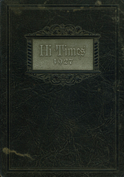 1927 Edition, Mercer High School - Hi Times Yearbook (Mercer, PA)