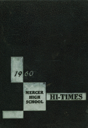 1960 Edition, Mercer High School - Hi Times Yearbook (Mercer, PA)