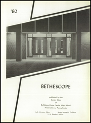 Page 5, 1960 Edition, Bethlehem Center High School - Bethescope Yearbook (Fredericktown, PA) online yearbook collection
