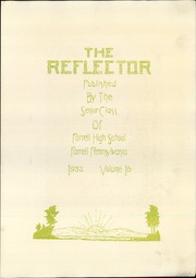 Page 5, 1932 Edition, Farrell High School - Reflector Yearbook (Farrell, PA) online yearbook collection