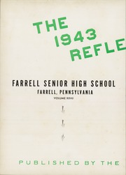 Page 6, 1943 Edition, Farrell High School - Reflector Yearbook (Farrell, PA) online yearbook collection