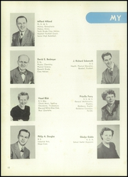 Page 14, 1950 Edition, West York Area High School - La Memoria Yearbook (York, PA) online yearbook collection