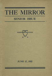 Page 1, 1932 Edition, Palmerton High School - Mirror Yearbook (Palmerton, PA) online yearbook collection