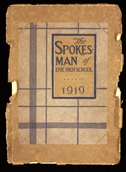 1919 Edition, Central High School - Spokesman Yearbook (Erie, PA)