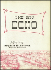 Page 7, 1950 Edition, Duquesne High School - Echo Yearbook (Duquesne, PA) online yearbook collection