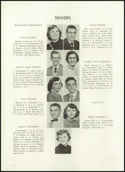Page 12, 1954 Edition, Sharpsville High School - Devils Log Yearbook (Sharpsville, PA) online yearbook collection
