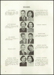 Page 16, 1954 Edition, Sharpsville High School - Devils Log Yearbook (Sharpsville, PA) online yearbook collection