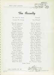Page 13, 1942 Edition, Perry High School - Perryscope Yearbook (Pittsburgh, PA) online yearbook collection
