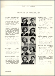 Page 16, 1946 Edition, Perry High School - Perryscope Yearbook (Pittsburgh, PA) online yearbook collection