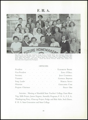 Page 59, 1955 Edition, Troy High School - Trojan Yearbook (Troy, PA) online yearbook collection