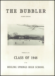 Page 5, 1948 Edition, Boiling Springs High School - Bubbler Yearbook (Boiling Springs, PA) online yearbook collection