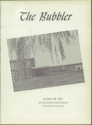 Page 5, 1955 Edition, Boiling Springs High School - Bubbler Yearbook (Boiling Springs, PA) online yearbook collection