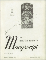 Page 5, 1946 Edition, Notre Dame High School - Maryscript Yearbook (Moylan, PA) online yearbook collection