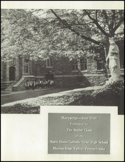 Page 7, 1946 Edition, Notre Dame High School - Maryscript Yearbook (Moylan, PA) online yearbook collection