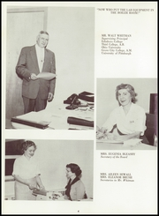 Page 8, 1959 Edition, Wilmington Area High School - Le Renard Yearbook (New Wilmington, PA) online yearbook collection