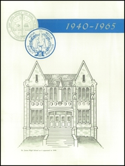 Page 6, 1940 Edition, St James Catholic High School - Blue and Gray Yearbook (Chester, PA) online yearbook collection