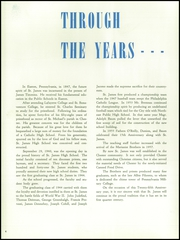 Page 8, 1940 Edition, St James Catholic High School - Blue and Gray Yearbook (Chester, PA) online yearbook collection