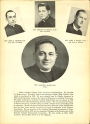 Page 13, 1951 Edition, St James Catholic High School - Blue and Gray Yearbook (Chester, PA) online yearbook collection