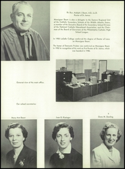 Page 10, 1955 Edition, St James Catholic High School - Blue and Gray Yearbook (Chester, PA) online yearbook collection