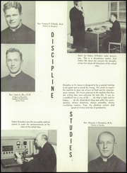 Page 11, 1955 Edition, St James Catholic High School - Blue and Gray Yearbook (Chester, PA) online yearbook collection