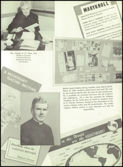 Page 13, 1955 Edition, St James Catholic High School - Blue and Gray Yearbook (Chester, PA) online yearbook collection
