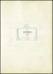 Page 7, 1927 Edition, William Allen High School - Comus Yearbook (Allentown, PA) online yearbook collection