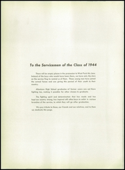 Page 10, 1944 Edition, William Allen High School - Comus Yearbook (Allentown, PA) online yearbook collection