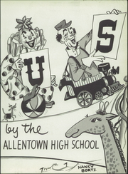 Page 7, 1954 Edition, William Allen High School - Comus Yearbook (Allentown, PA) online yearbook collection