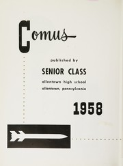 Page 6, 1958 Edition, William Allen High School - Comus Yearbook (Allentown, PA) online yearbook collection
