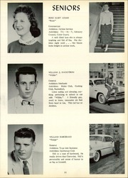 Page 15, 1958 Edition, Frazier High School - Commodore Yearbook (Perryopolis, PA) online yearbook collection