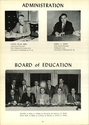 Page 8, 1958 Edition, Frazier High School - Commodore Yearbook (Perryopolis, PA) online yearbook collection