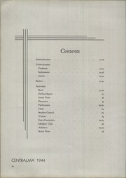 Page 10, 1944 Edition, Central Catholic High School - Centralma Yearbook (Reading, PA) online yearbook collection