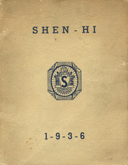 Page 1, 1936 Edition, Shenango High School - Shen Hi Yearbook (New Castle, PA) online yearbook collection
