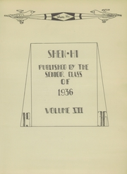 Page 5, 1936 Edition, Shenango High School - Shen Hi Yearbook (New Castle, PA) online yearbook collection