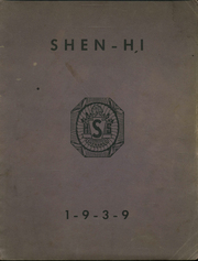 1939 Edition, Shenango High School - Shen Hi Yearbook (New Castle, PA)