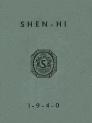 1940 Edition, Shenango High School - Shen Hi Yearbook (New Castle, PA)