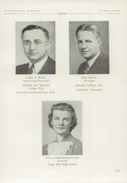Page 11, 1940 Edition, Camp Hill High School - Camillon Yearbook (Camp Hill, PA) online yearbook collection