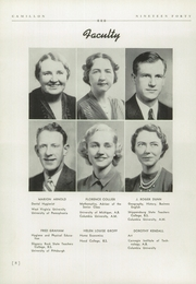 Page 12, 1940 Edition, Camp Hill High School - Camillon Yearbook (Camp Hill, PA) online yearbook collection