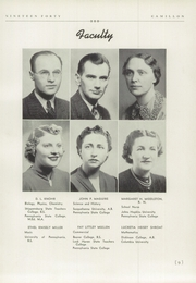 Page 13, 1940 Edition, Camp Hill High School - Camillon Yearbook (Camp Hill, PA) online yearbook collection
