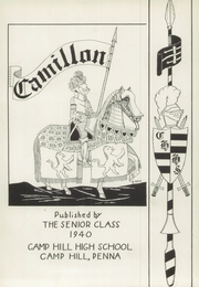 Page 5, 1940 Edition, Camp Hill High School - Camillon Yearbook (Camp Hill, PA) online yearbook collection