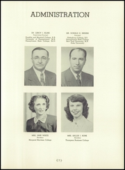 Page 11, 1951 Edition, Camp Hill High School - Camillon Yearbook (Camp Hill, PA) online yearbook collection