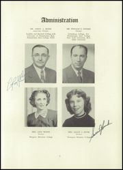 Page 11, 1952 Edition, Camp Hill High School - Camillon Yearbook (Camp Hill, PA) online yearbook collection