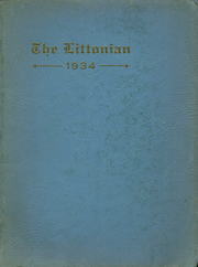 Page 1, 1934 Edition, Littlestown High School - Littonian Yearbook (Littlestown, PA) online yearbook collection