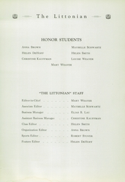 Page 11, 1934 Edition, Littlestown High School - Littonian Yearbook (Littlestown, PA) online yearbook collection