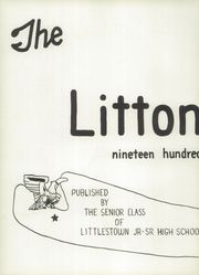 Page 6, 1954 Edition, Littlestown High School - Littonian Yearbook (Littlestown, PA) online yearbook collection