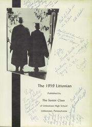 Page 5, 1959 Edition, Littlestown High School - Littonian Yearbook (Littlestown, PA) online yearbook collection